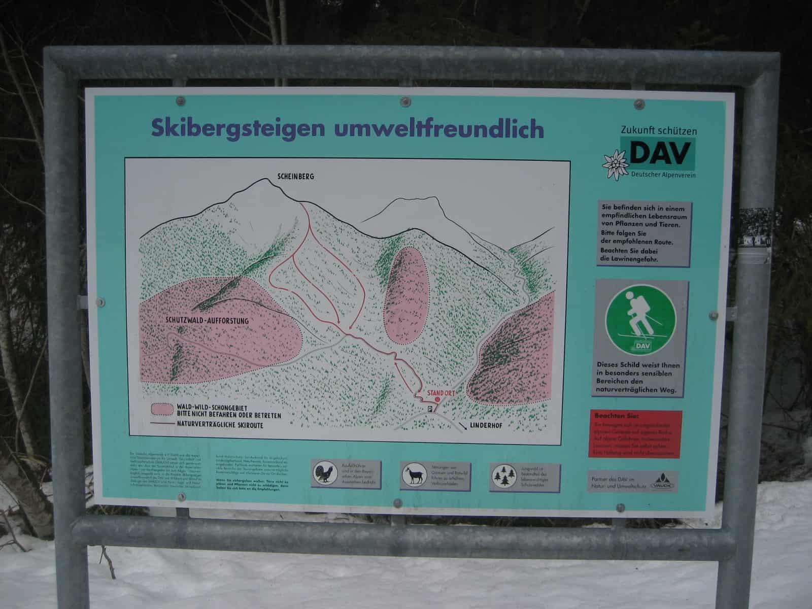 Skitour auf die Scheinbergspitze