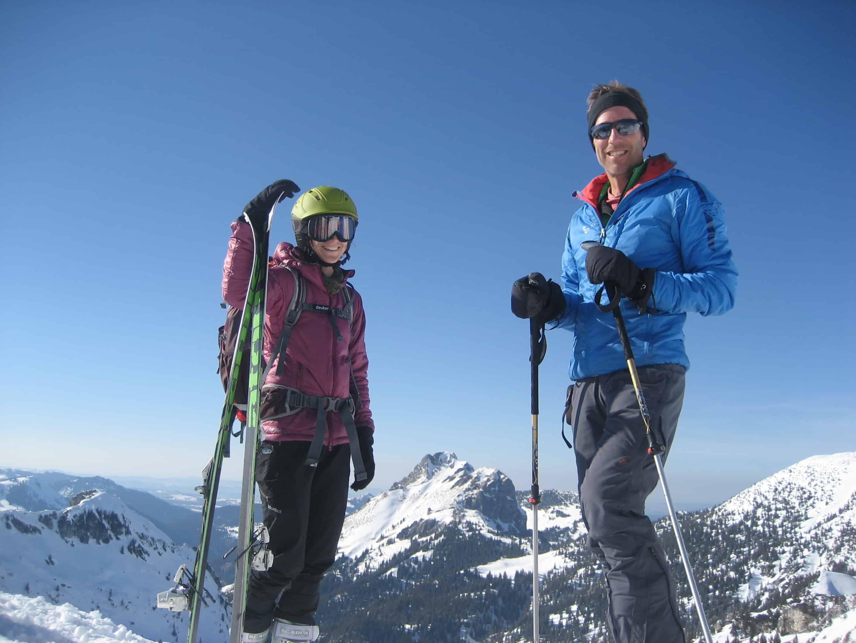 Skitour auf die Sefenspitze