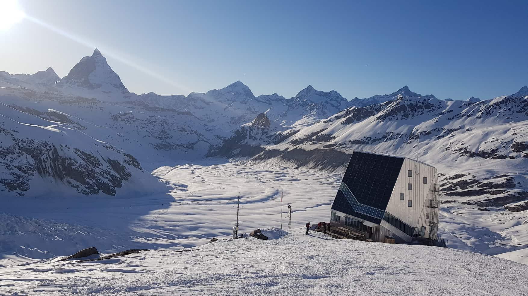 Skitouren im Monte Rosa Gebiet