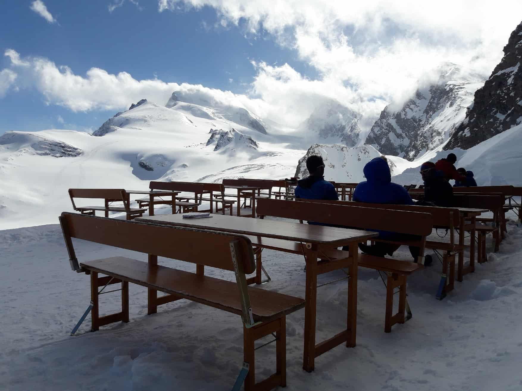 Skitour auf's Strahlhorn