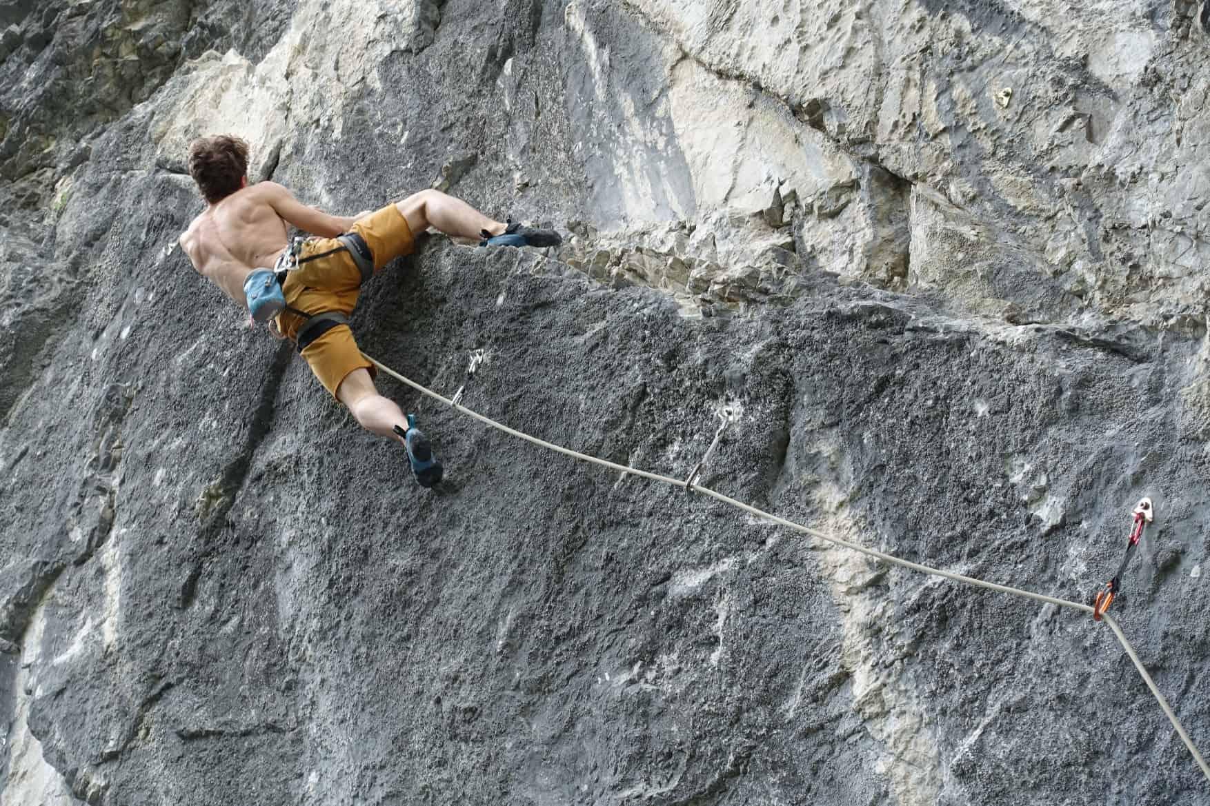 Klettern im Hirschtobel
