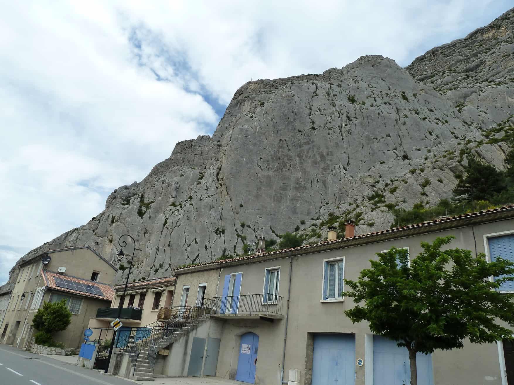 Klettern bei Sisteron