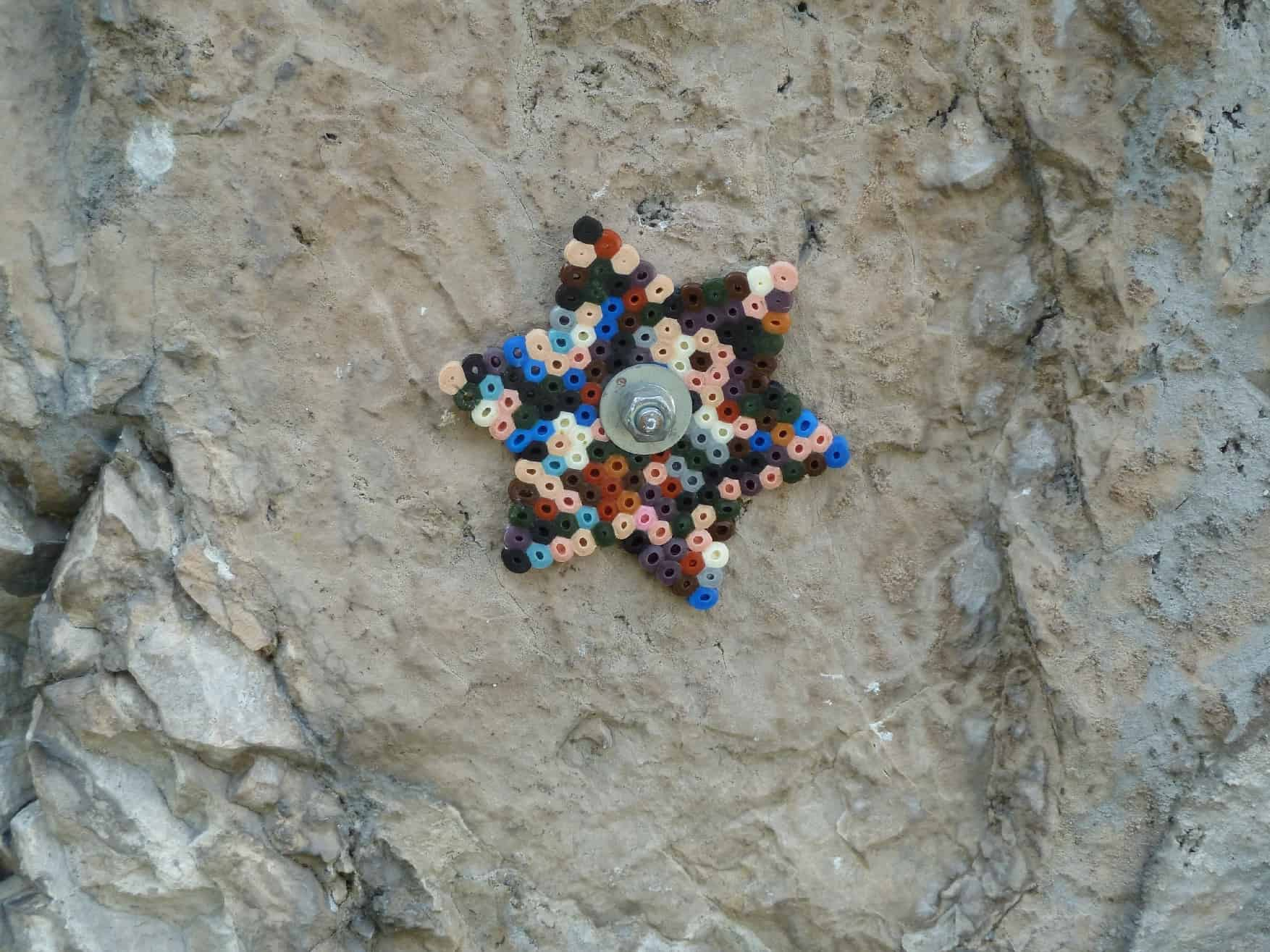 Klettern an der Baldo-Platte