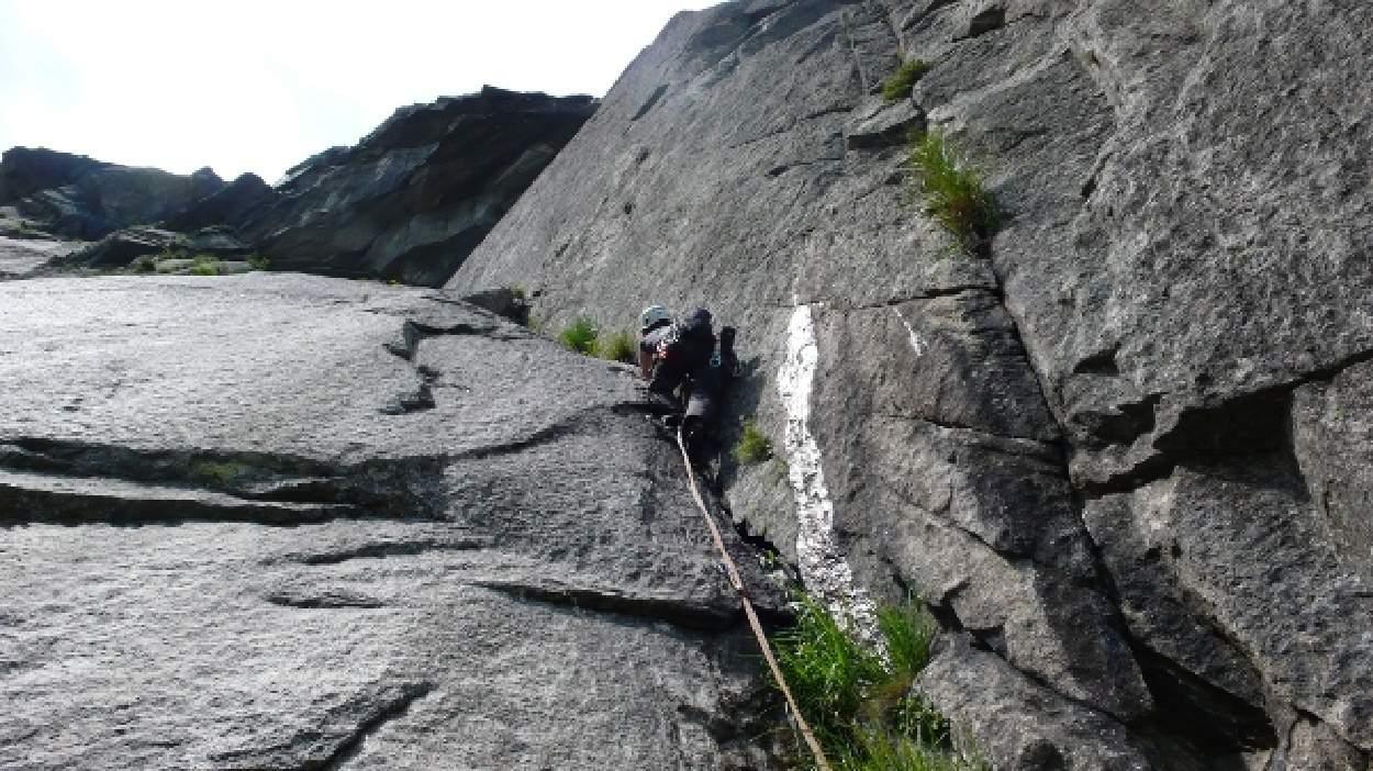 Klettern in der Schöllenen-Schlucht