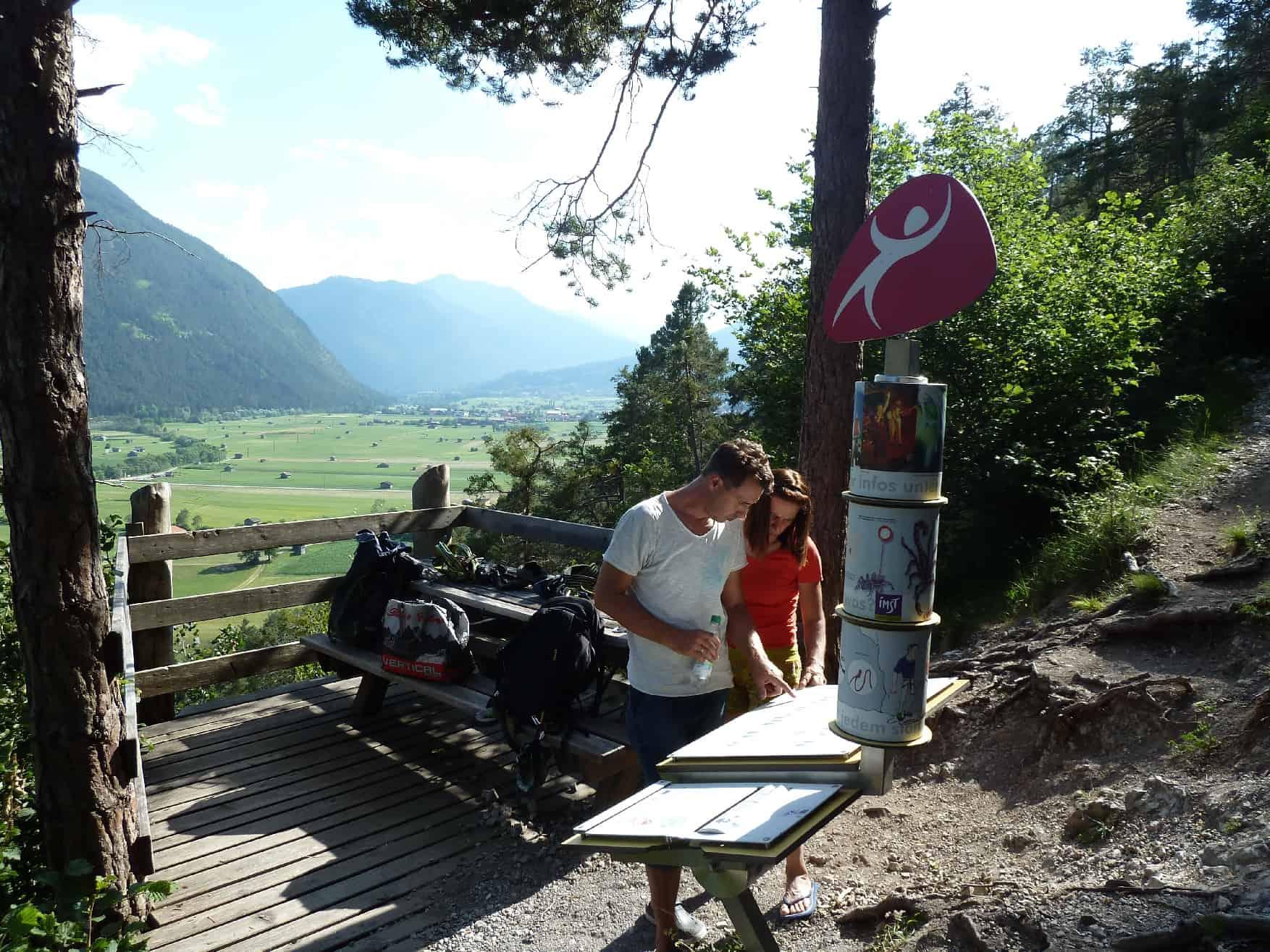 Klettern bei Walchenbach