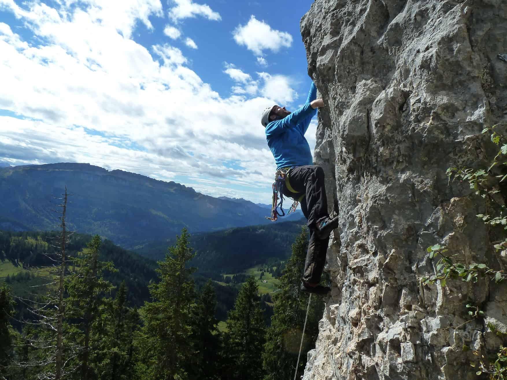 Klettern am Besler