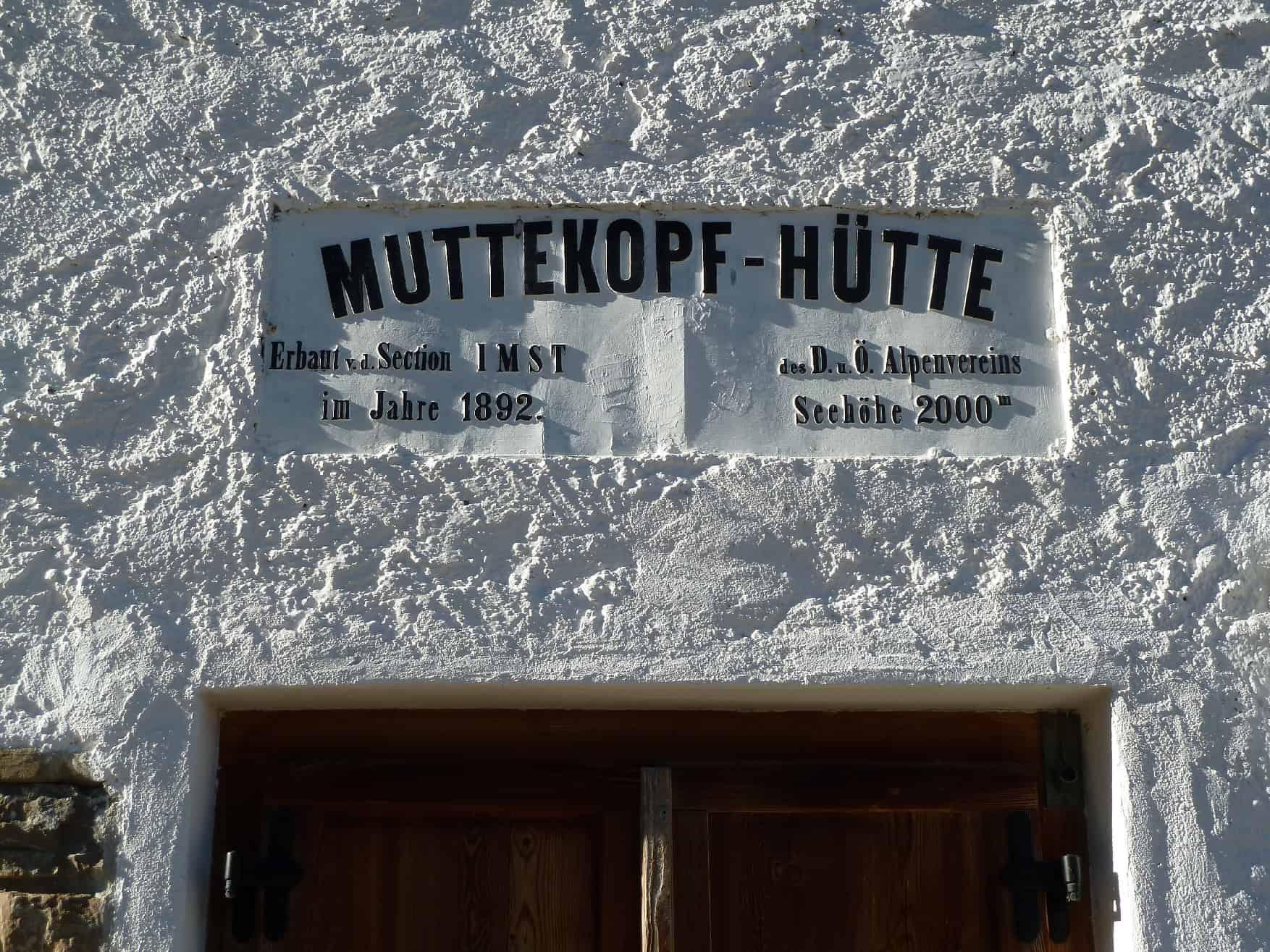 Klettern bei der Muttekopf Hütte
