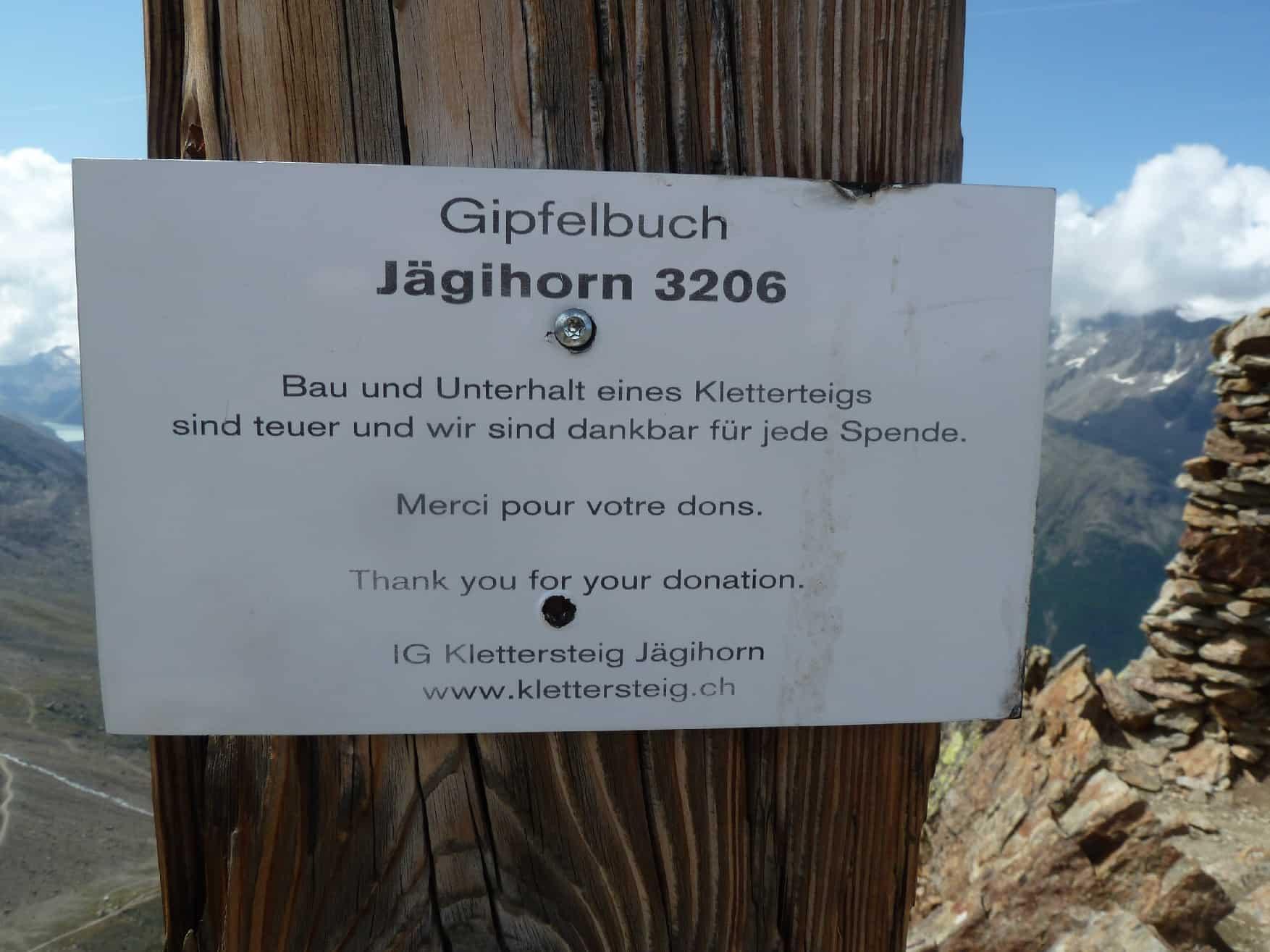 Klettern am Jägihorn