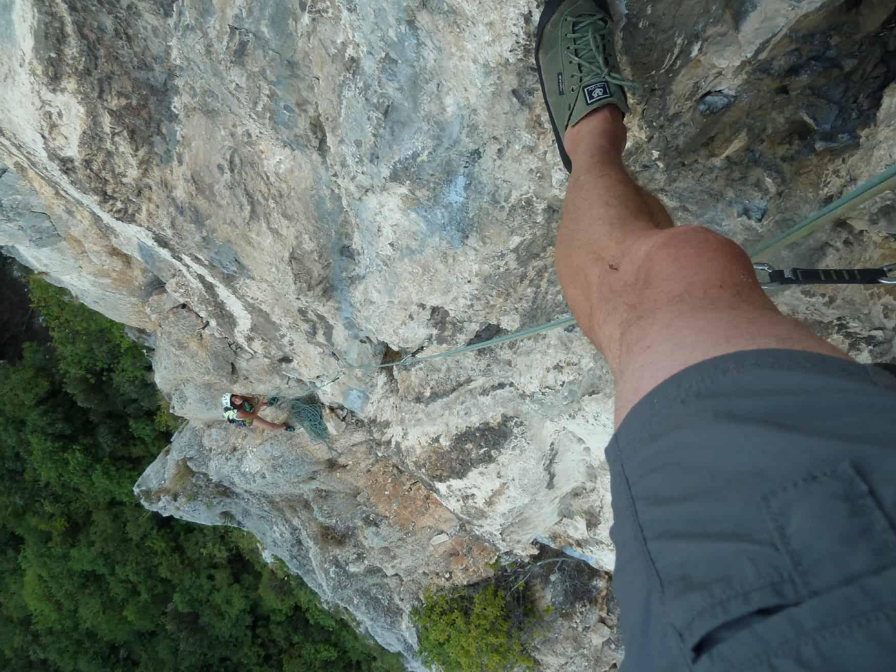 Klettern am Monte Colt