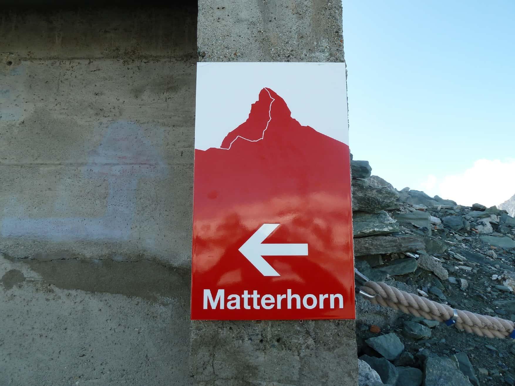 Hörnligrat am Matterhorn