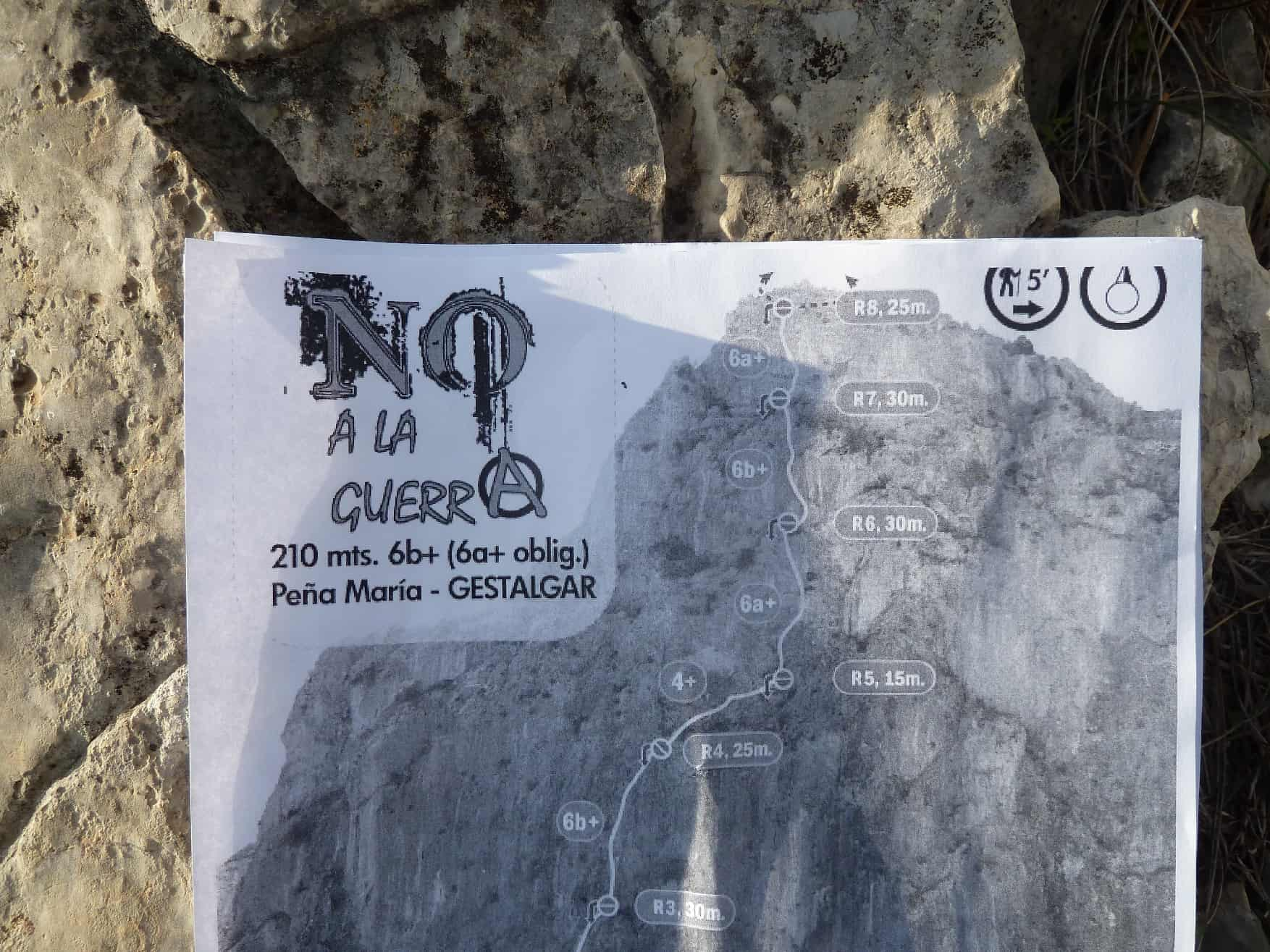 Klettern bei Gestalgar