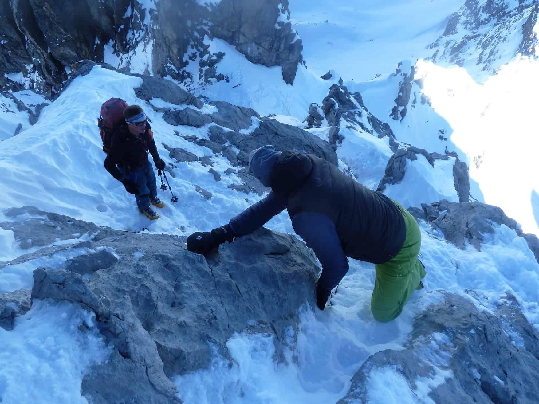 Skitour auf die Leiterspitze