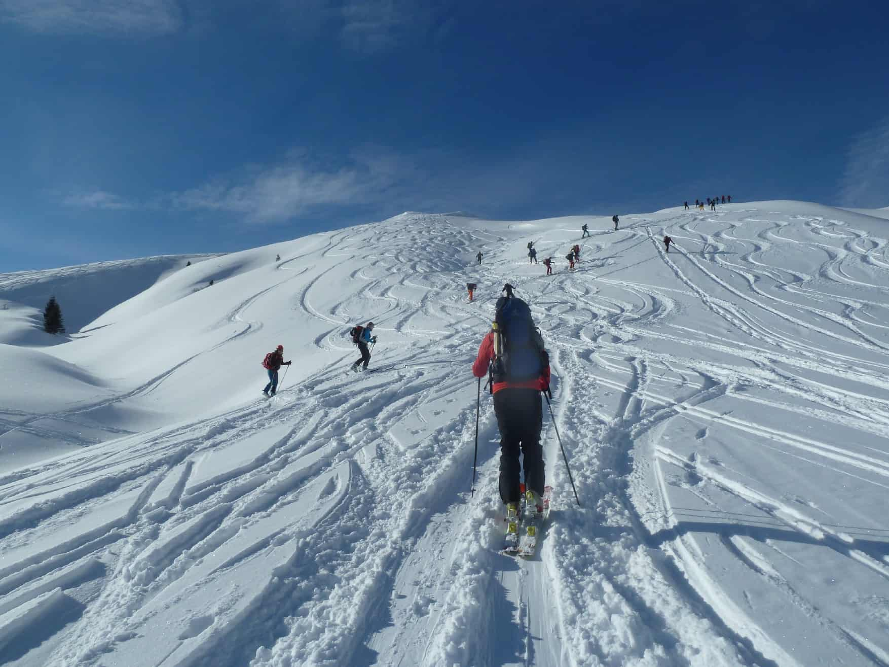 Skitour auf's Galtjoch