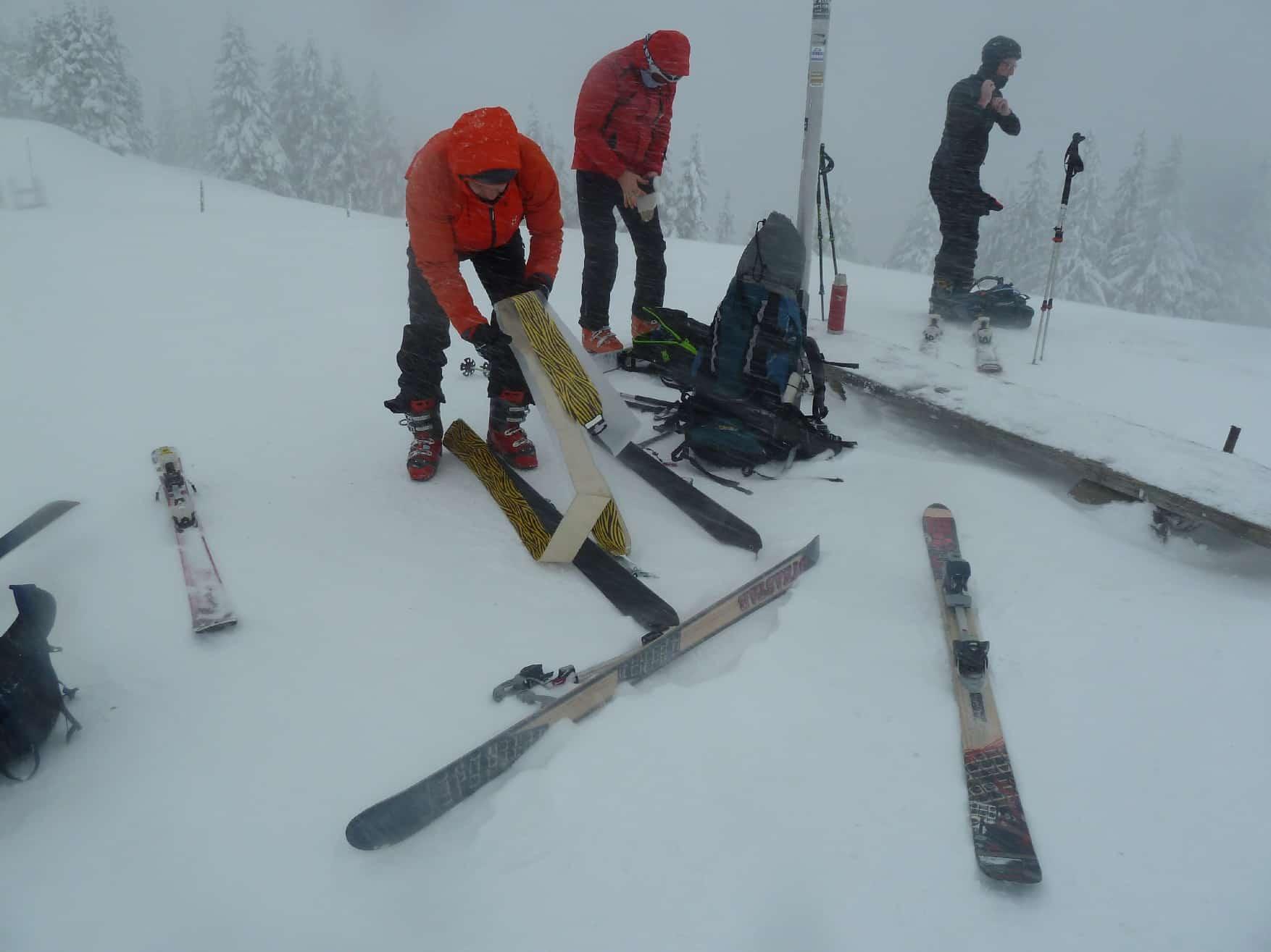 Skitour auf's Wertacher Horn