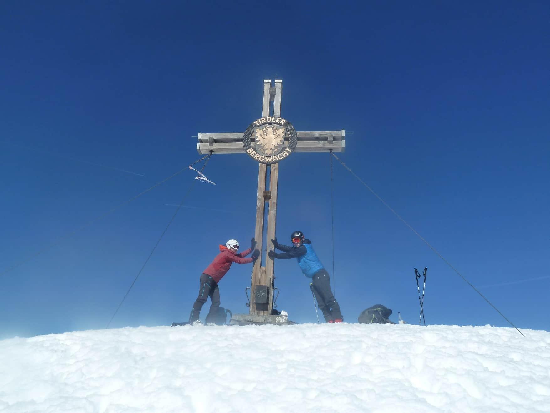 Skitour auf den Thaneller
