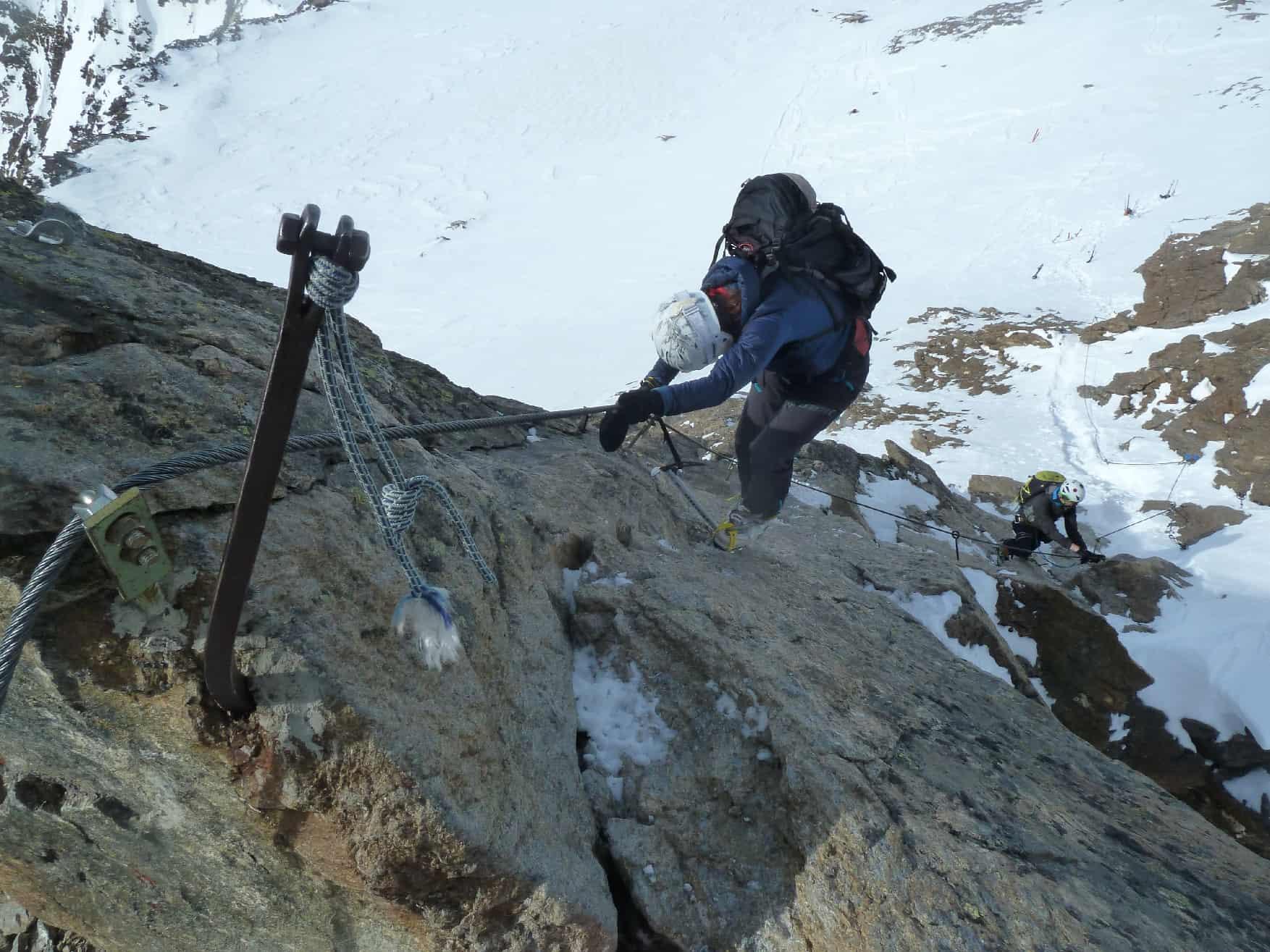 Skitouren auf der Langtalereck Hütte