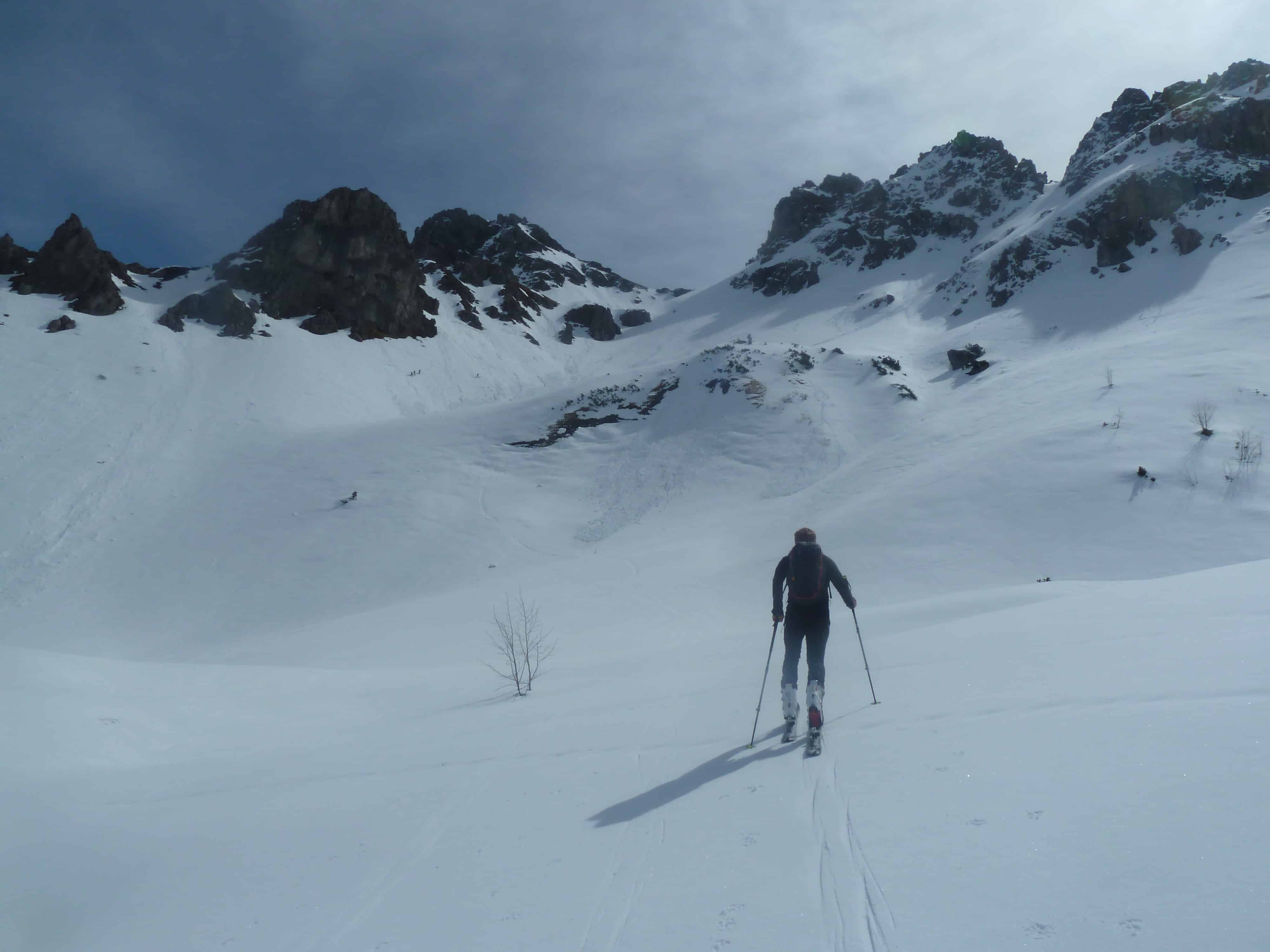 Skitour auf den Griesgund Kopf