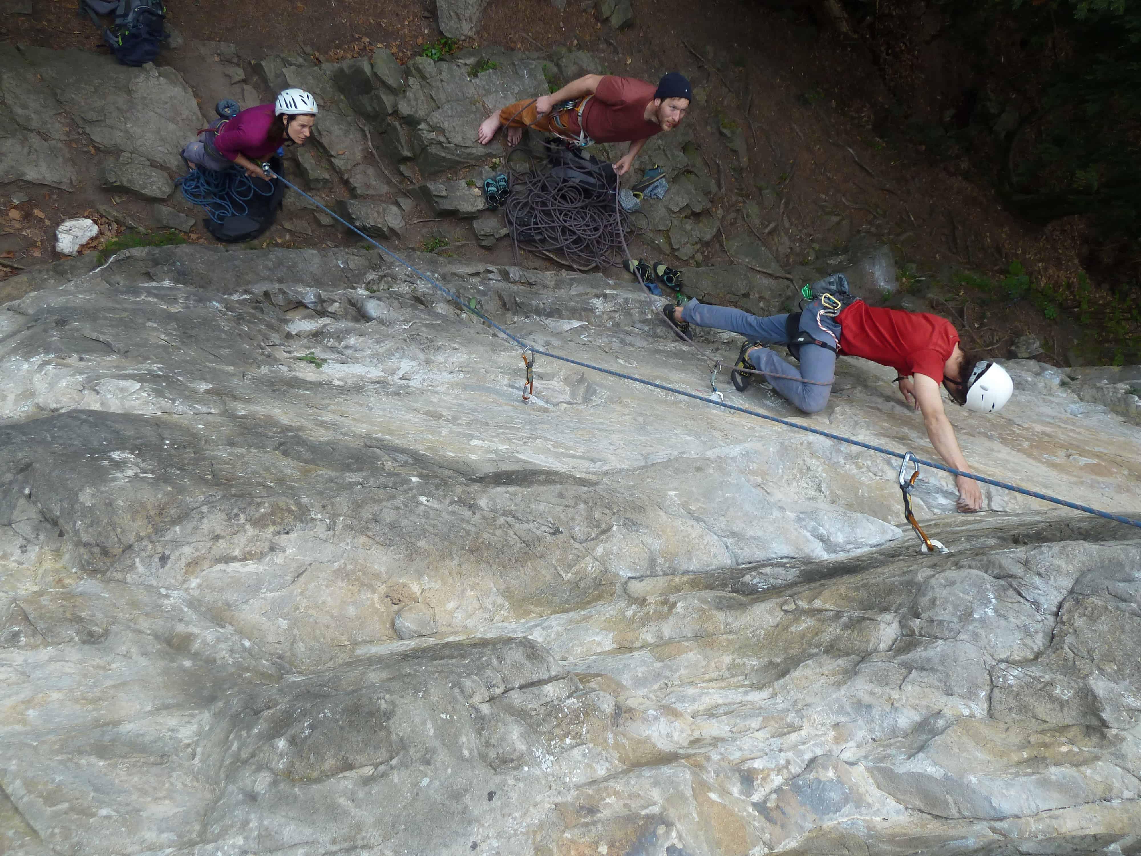 Klettern bei Interlaken