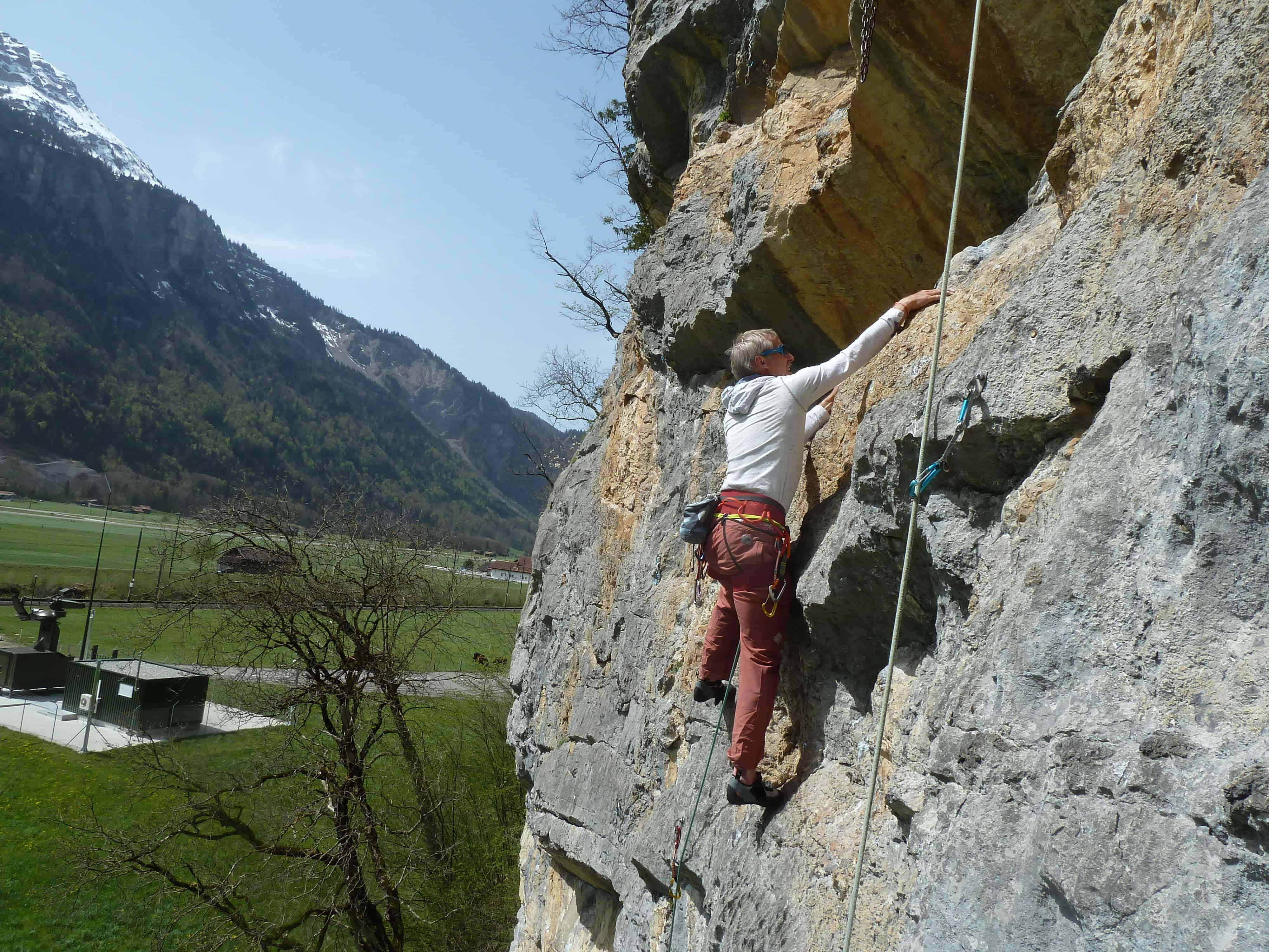 Klettern bei Meiringen