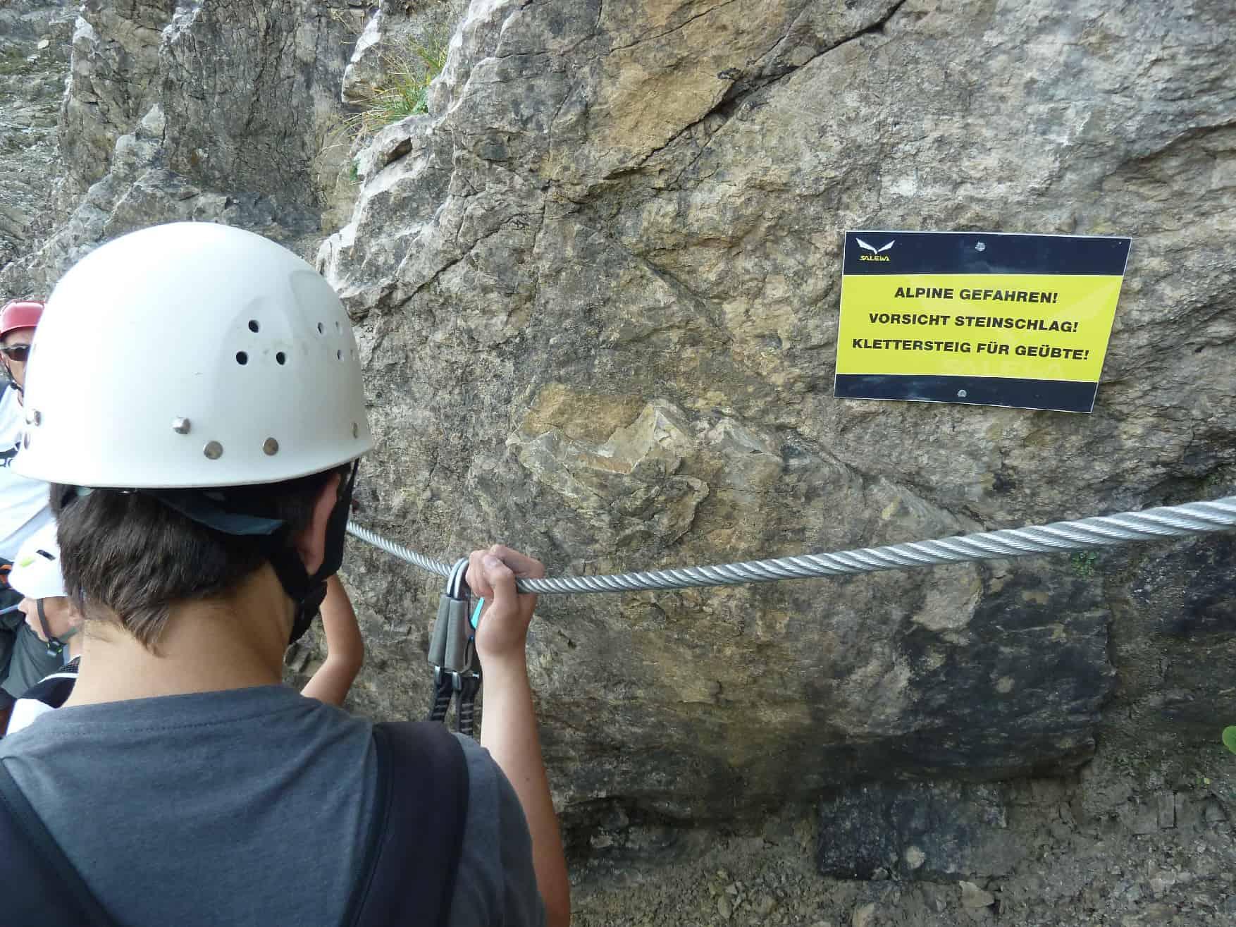 Salewa-Klettersteig am Iseler