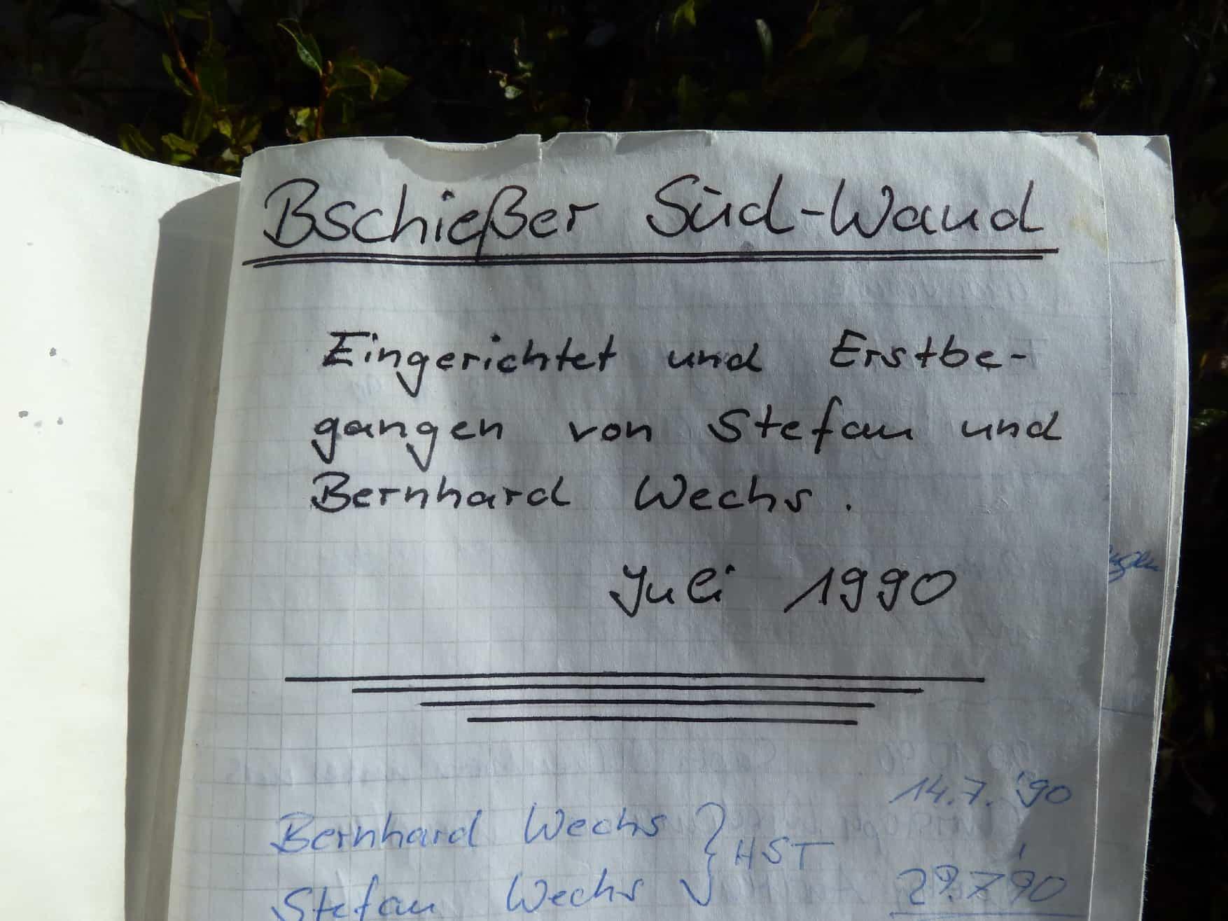 Bschießer-Südwand