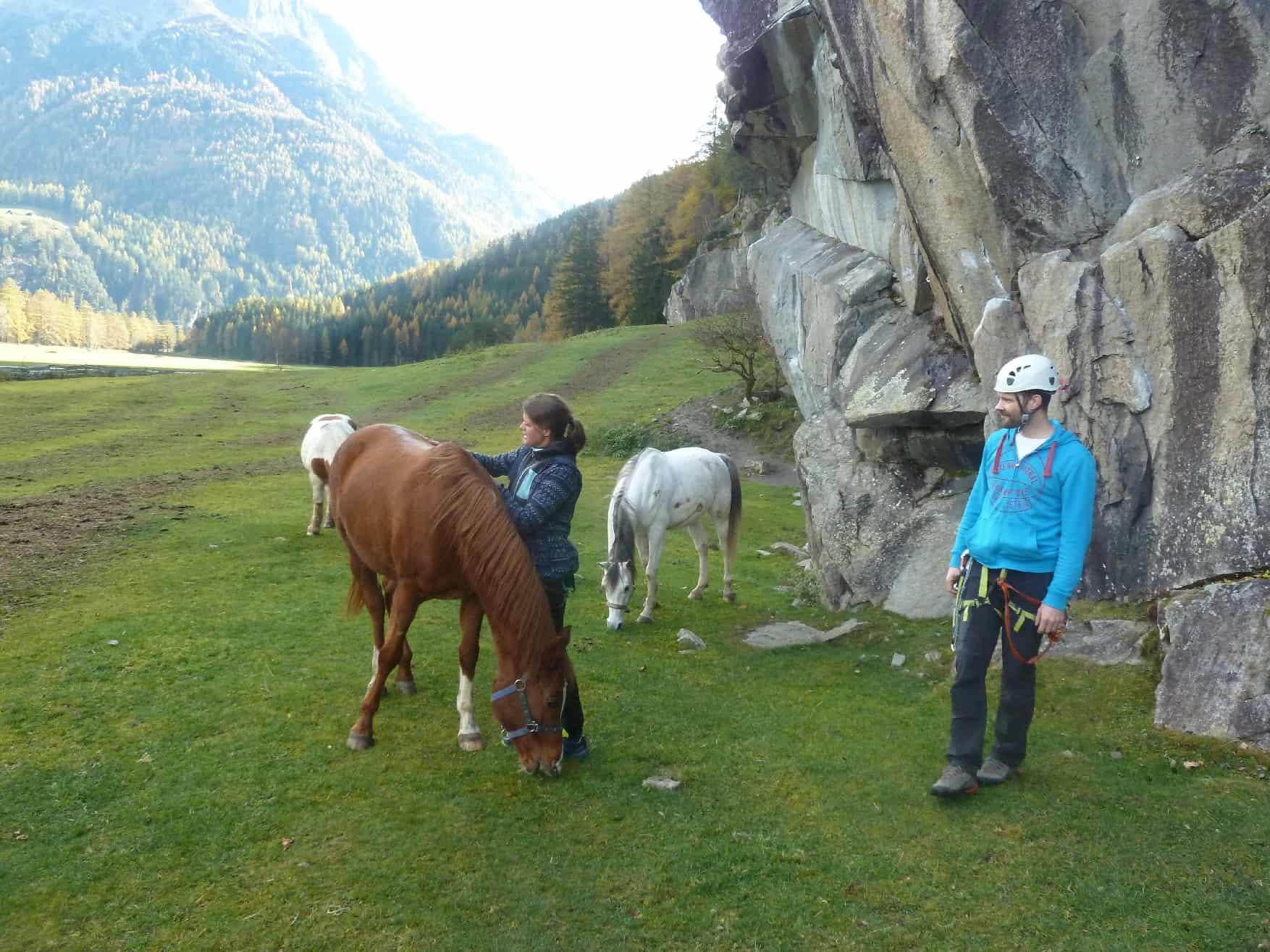 Klettergarten Oberried im Ötztal