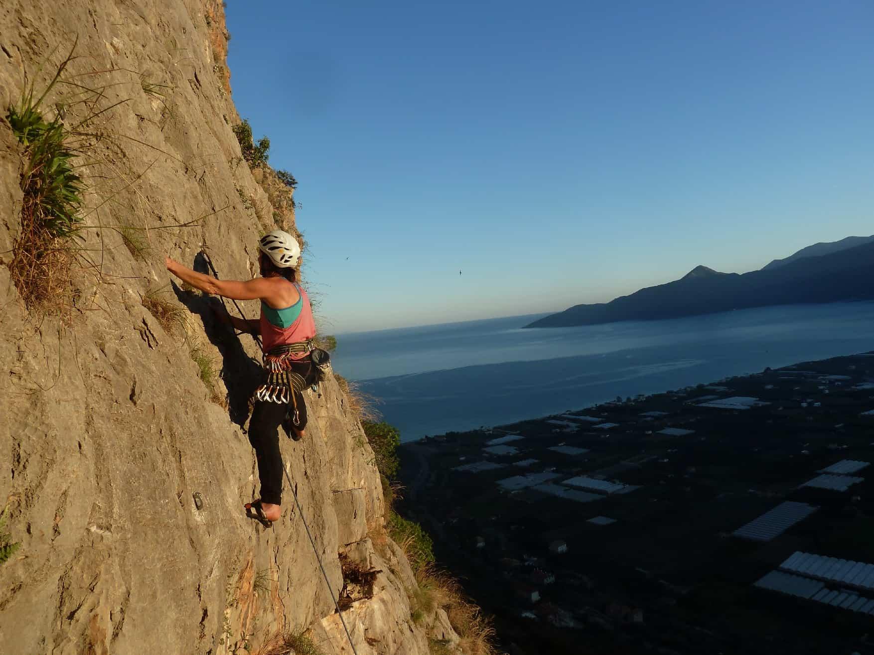 Klettern bei Leonidio