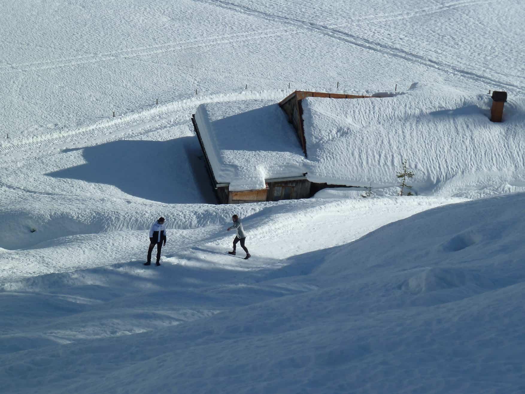 Skitour auf's Grünhorn