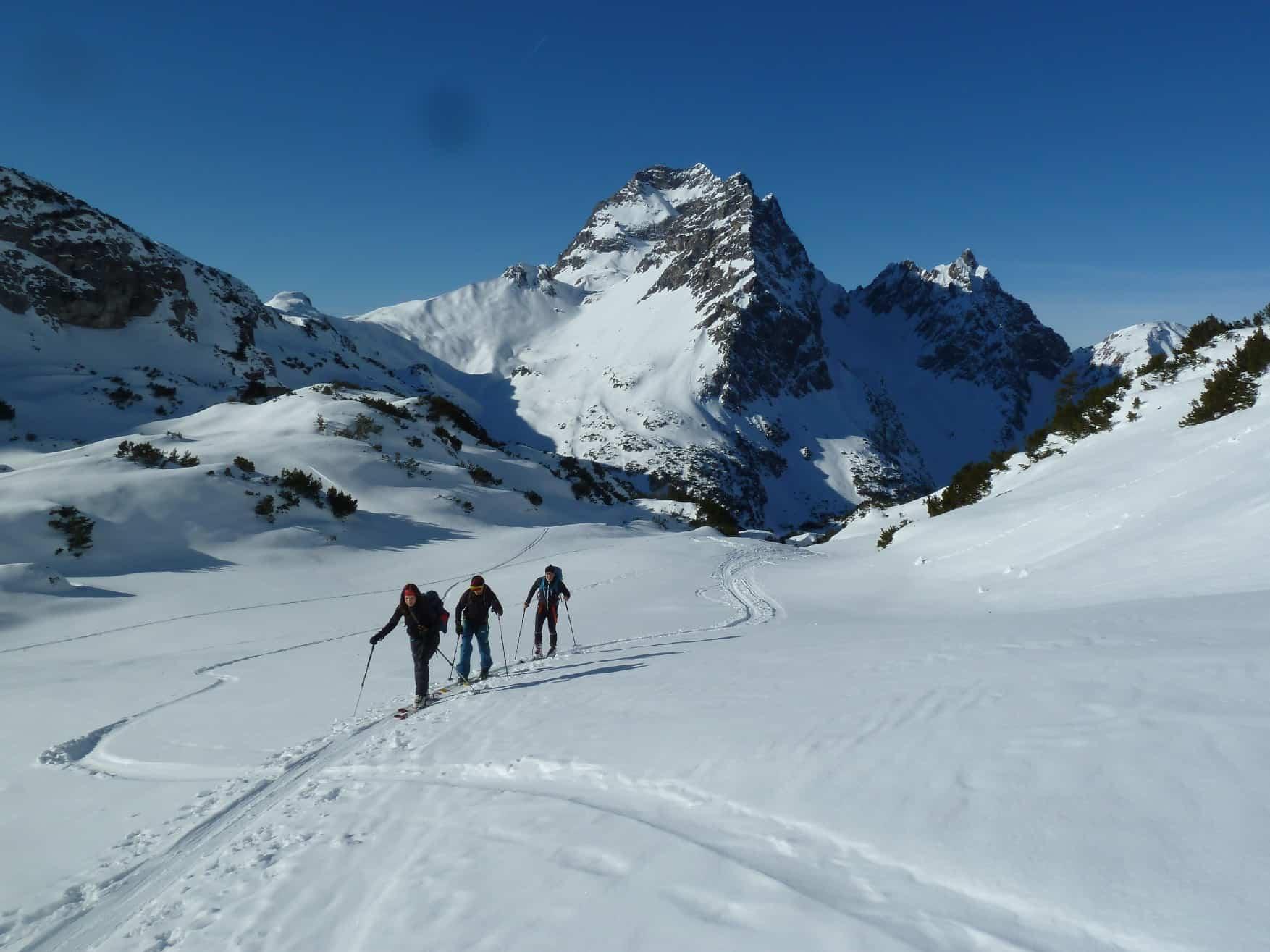 Skitour auf's Walser Geishorn