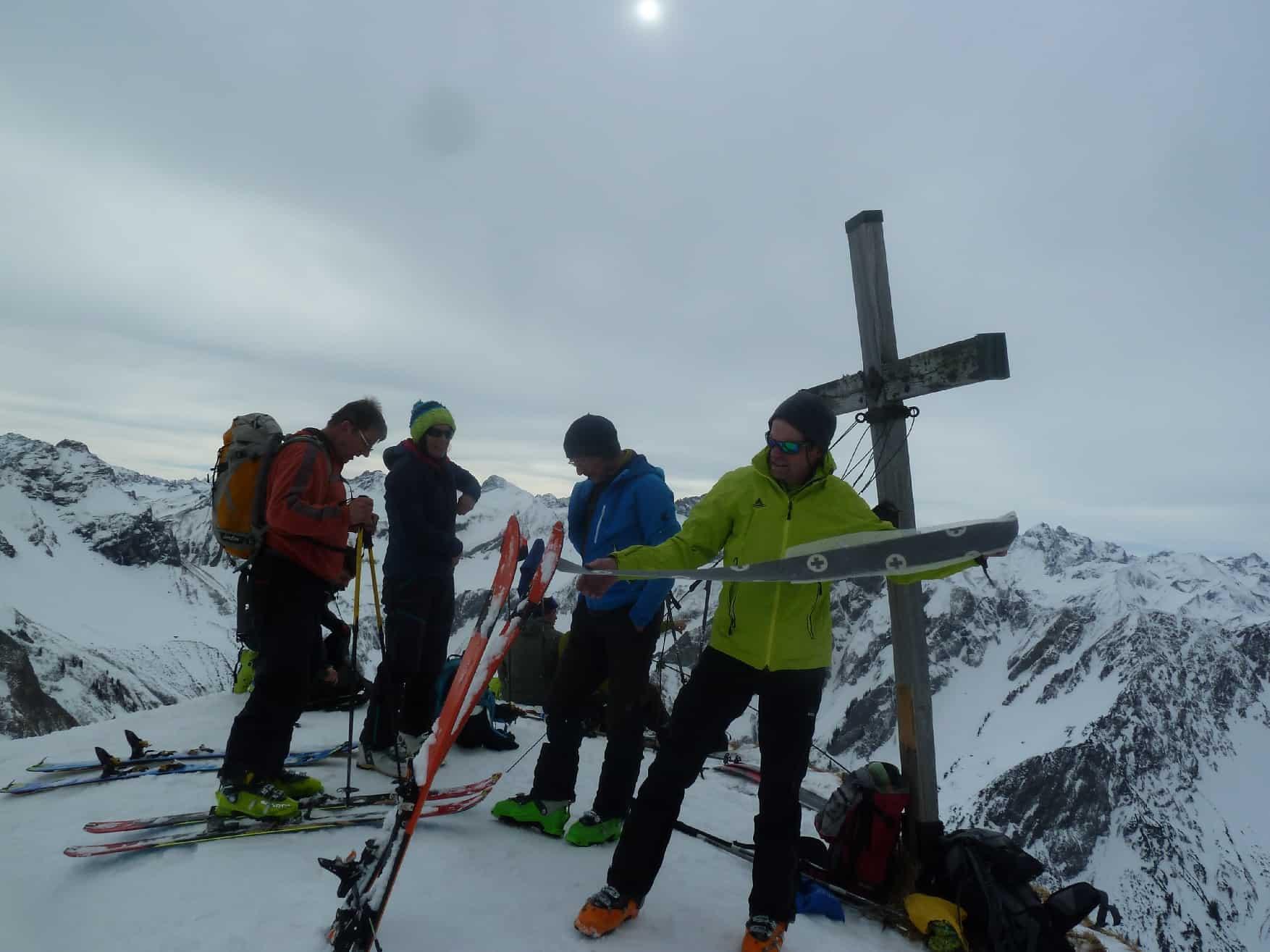 Skitour auf den Schochen