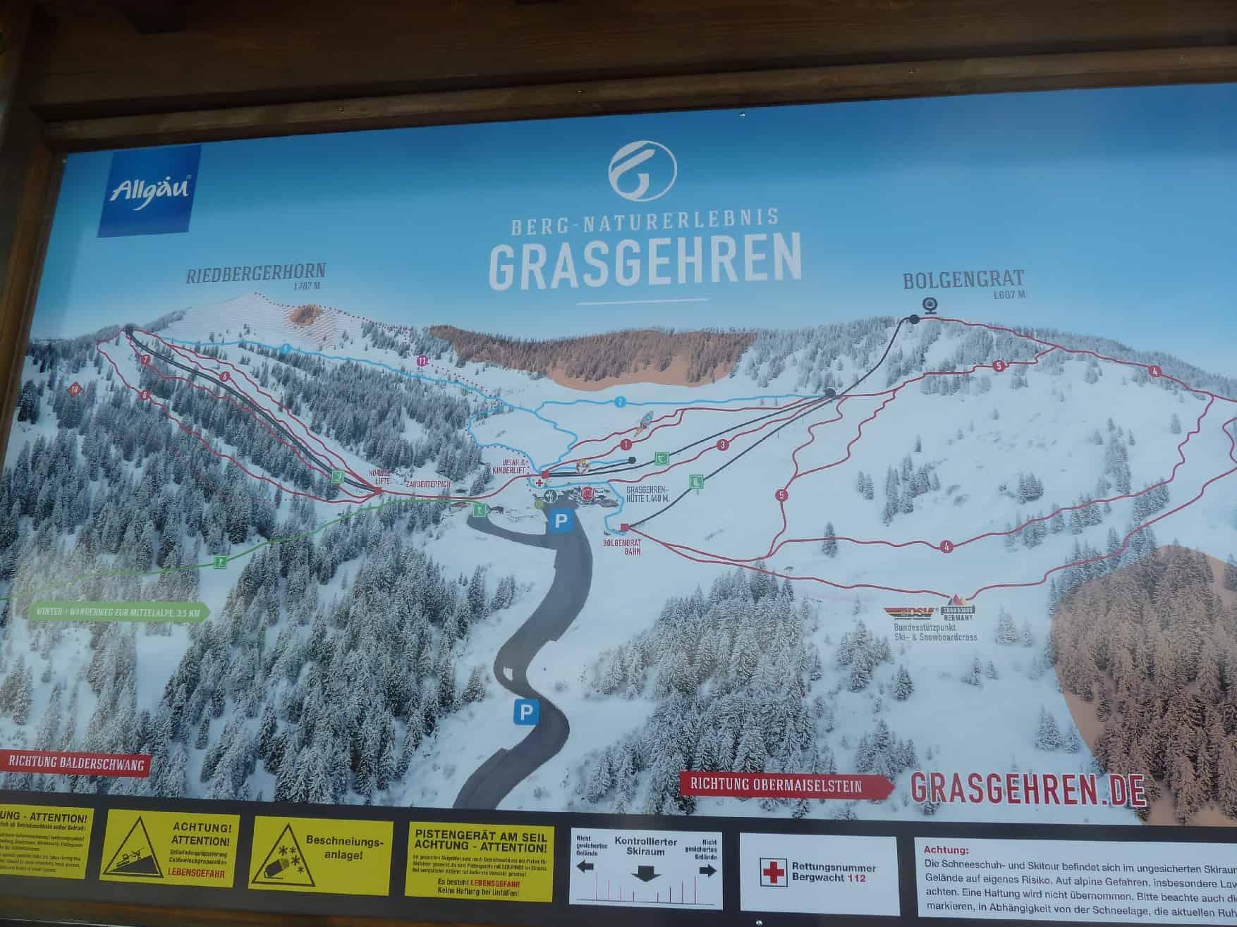 Skitour auf's Riedberger Horn