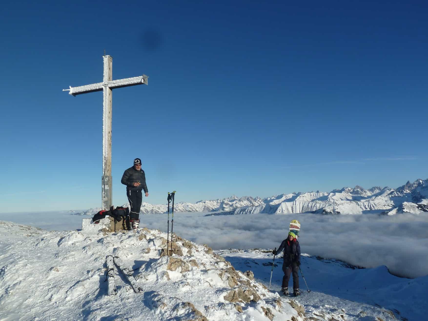Skitour auf's Hahnenköpfle