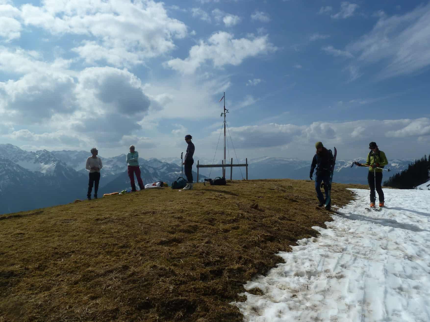 Skitour auf den Spieser