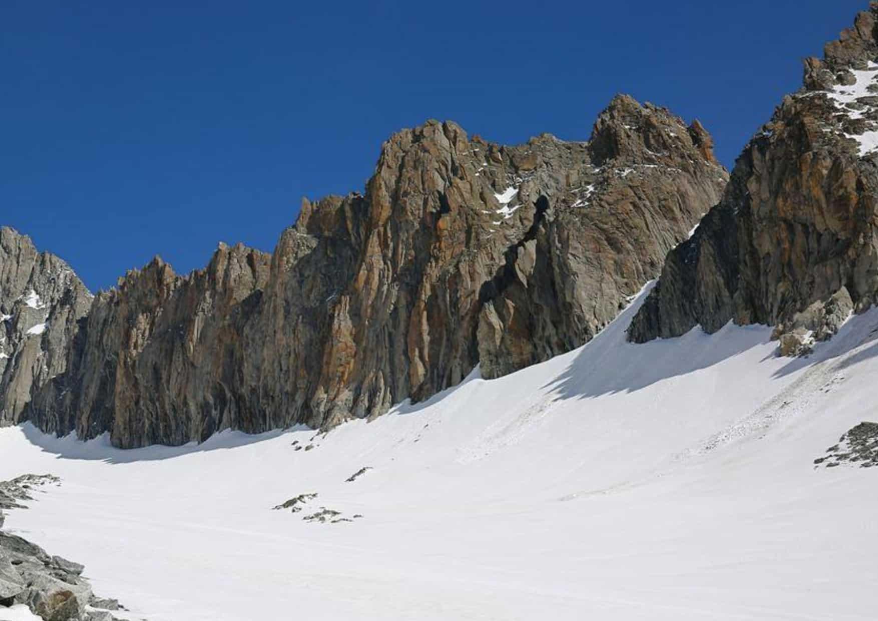 Klettern an den Dammazwillingen