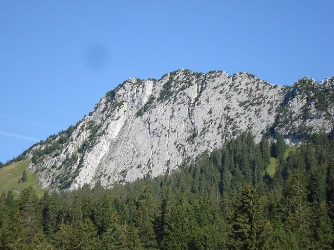Klettern am Brüggler