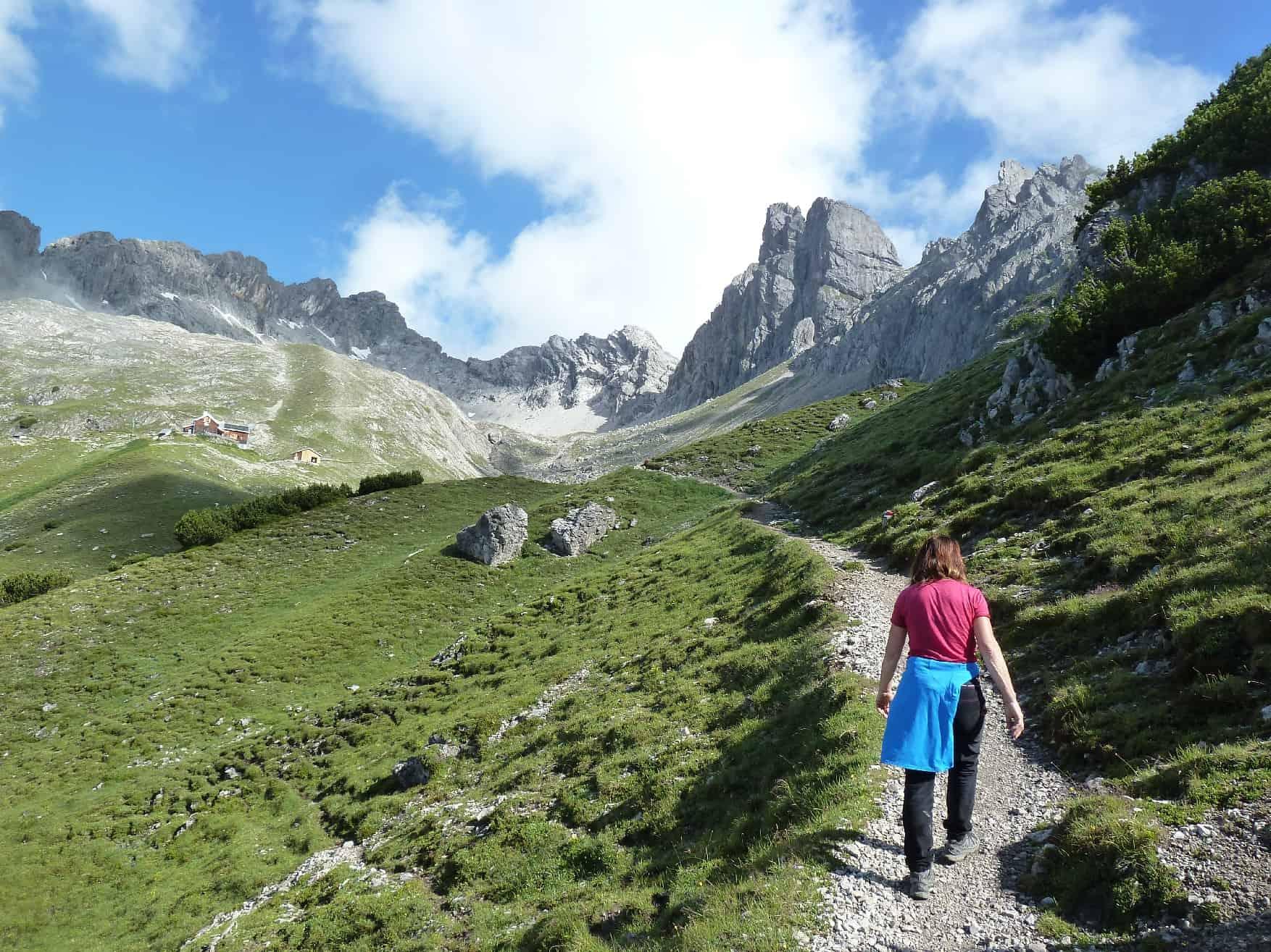 Klettern an der Wolfebnerspitze