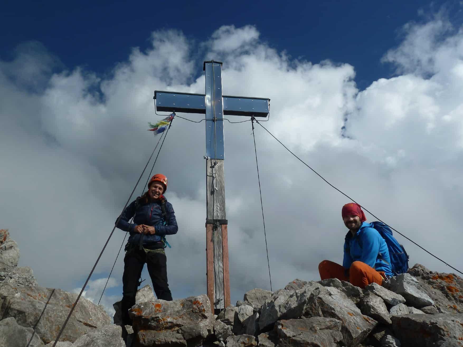 Klettern an der Trettachspitze