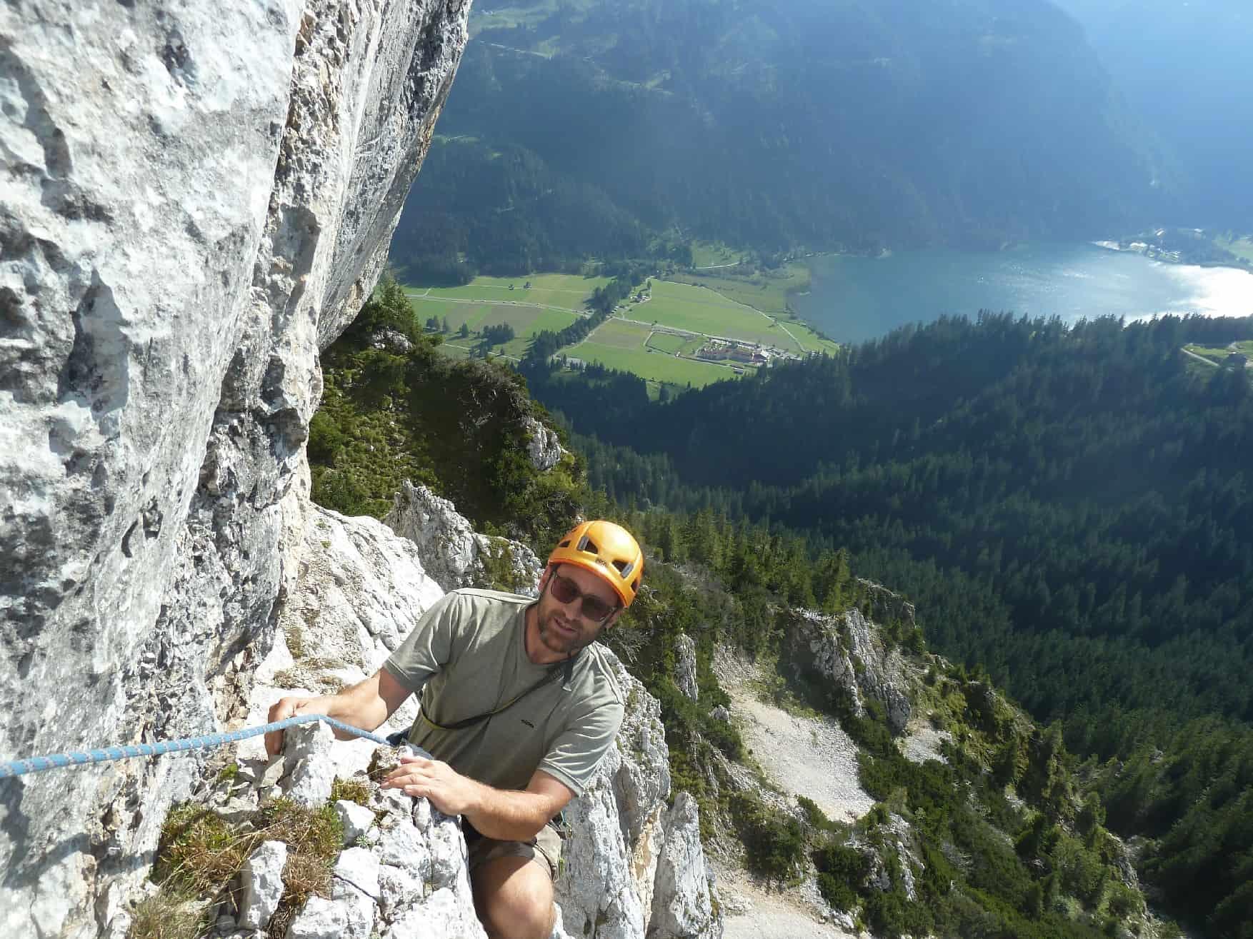 Alpin-Klettergarten Hallergehrenjoch