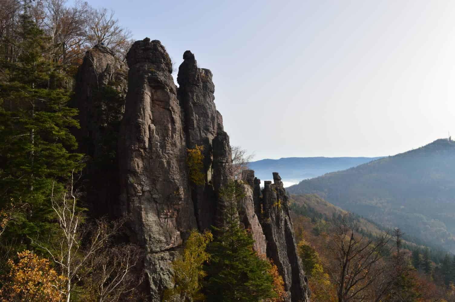 Klettern am Battert