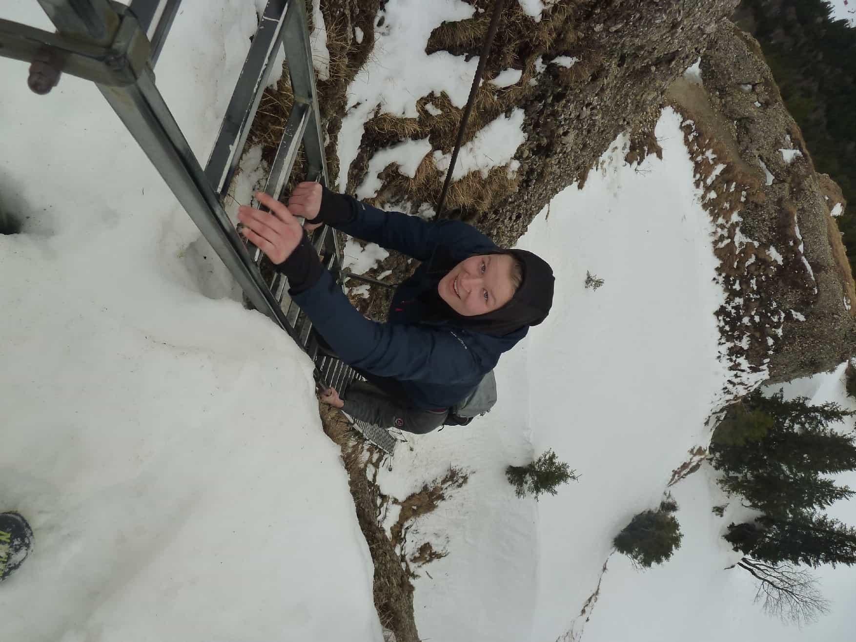 Skitour auf den Steineberg